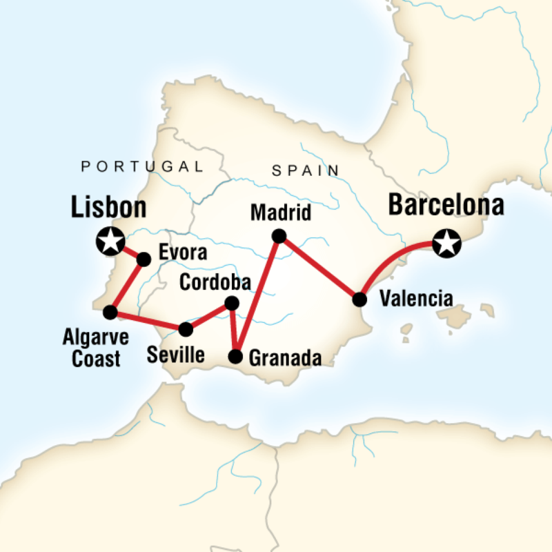 Itinerary - Best of Spain & Portugal in Spain, Europe - G ...