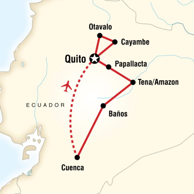 Ekvador Amazon Turu