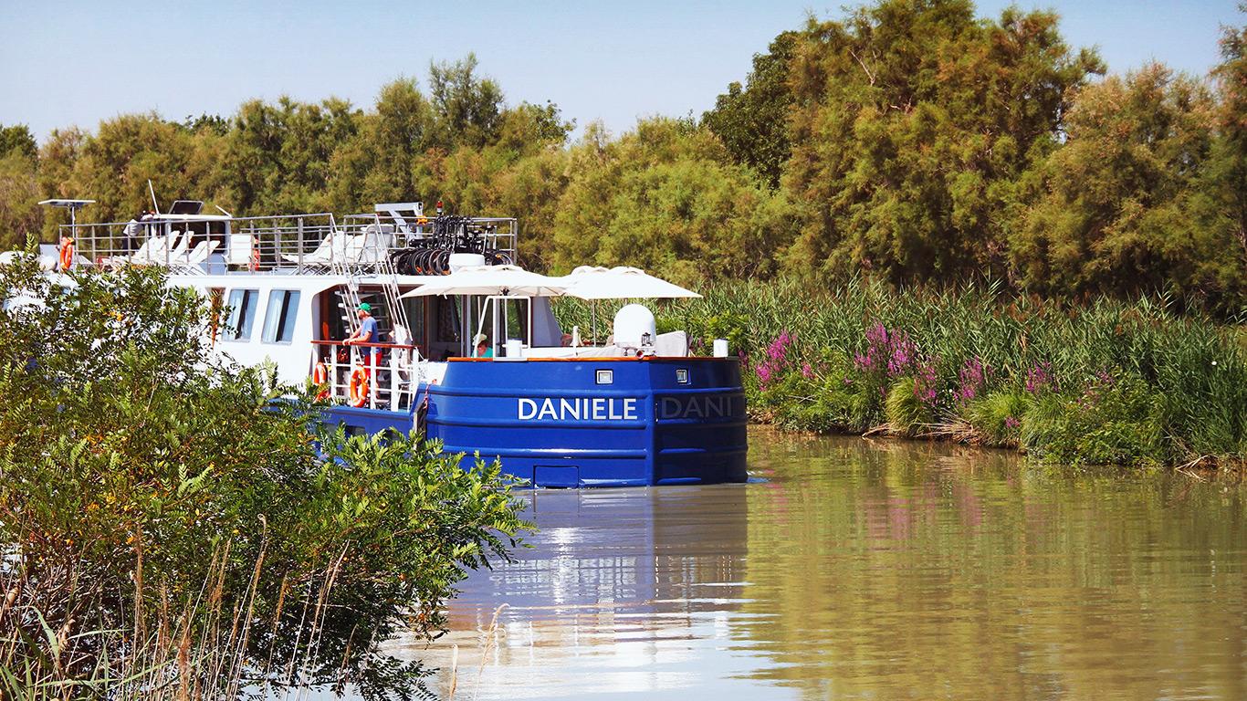 Burgundy River Riverboat Cruising G Adventures