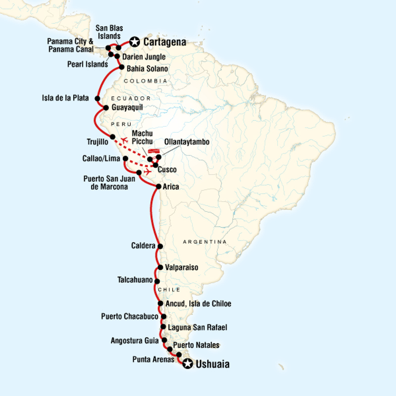 Latin American SOL Review Quiz By Slothman - Cruise to south america