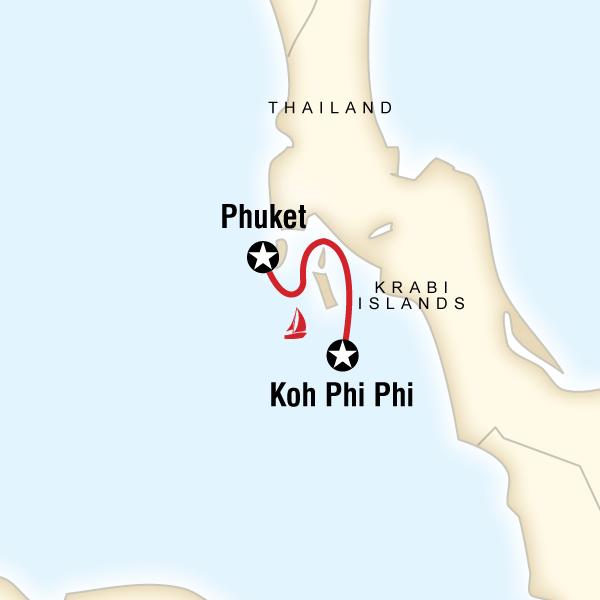 Thai Island Koh Phi Phi: Phuket To Koh Phi Phi