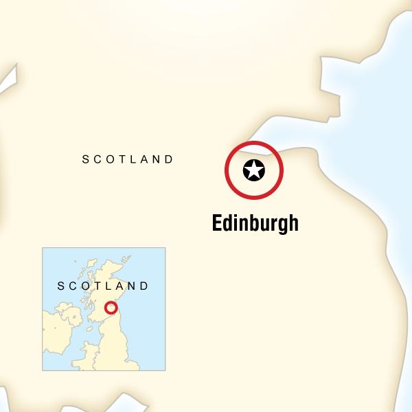 Abenteuerreise Route Hogmanay in Scotland