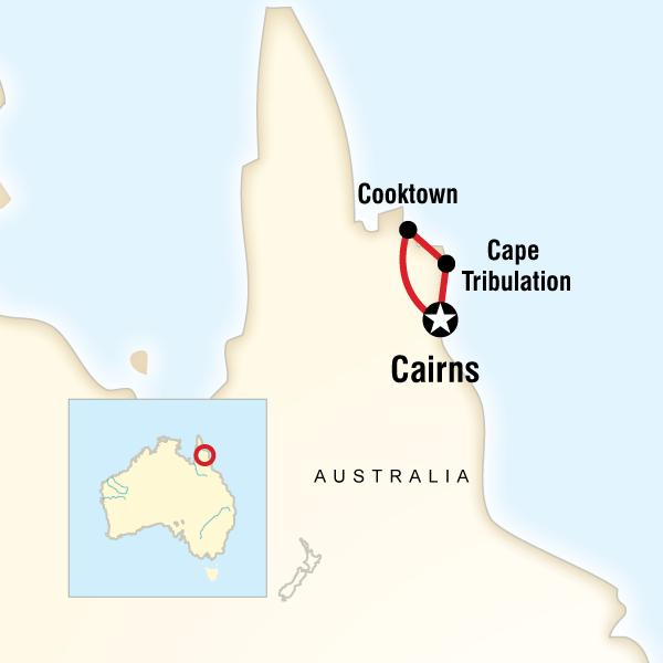 Abenteuerreise Route Northern Aboriginal Experience