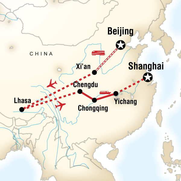 China, Yangtze and Tibet Explorer