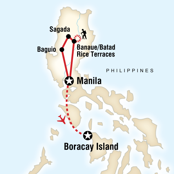 Abenteuerreise Route Philippines–Manila to Boracay on a Shoestring