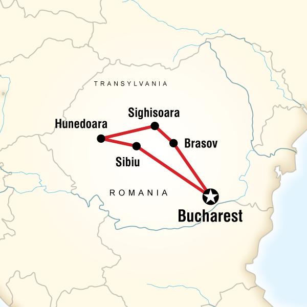 Abenteuerreise Route Transylvania Unearthed – Halloween Edition