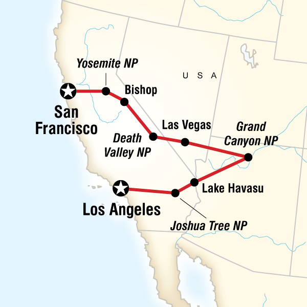 Los Angeles To San Francisco Express Lonely Planet