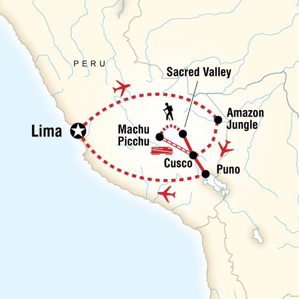 Abenteuerreise Route Quest Of The Gods