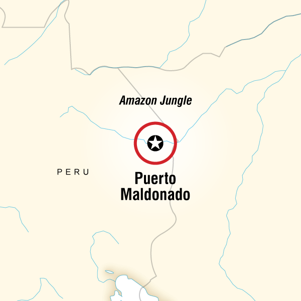 Abenteuerreise Route G Lodge Amazon - 5 days