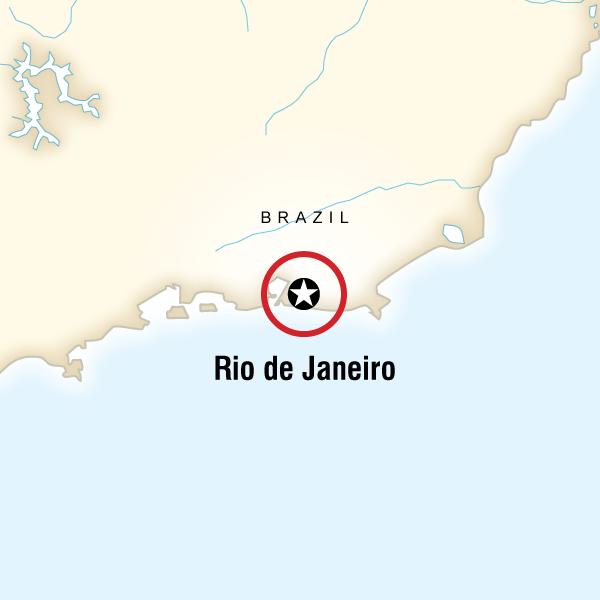 Abenteuerreise Route Rio de Janeiro Carnival Hostel Experience
