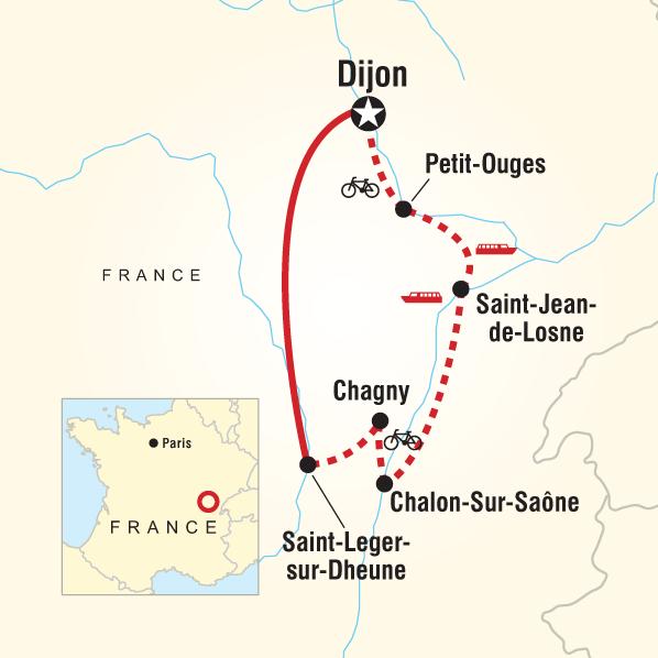 Burgundy River Cruise Adventure Northbound