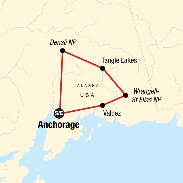 Camping in Scenic Alaska and Denali