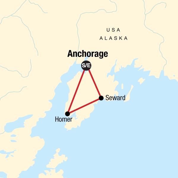 Camping Alaska`s Kenai Peninsula