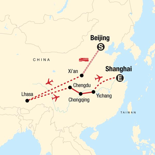Iconic China: Beijing to Tibet