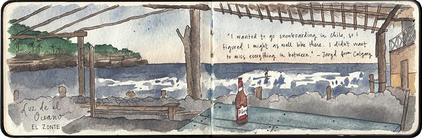 How I saw a sleepy beachside village called El Zonte in El Salvador.