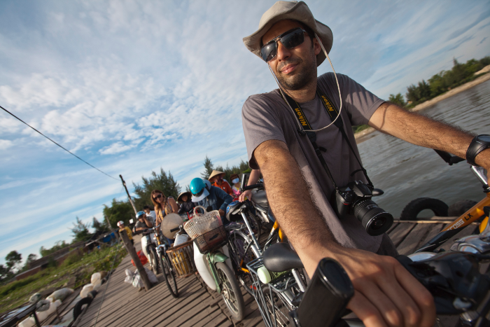 cycling brings you closer to the local people and fellow travellers