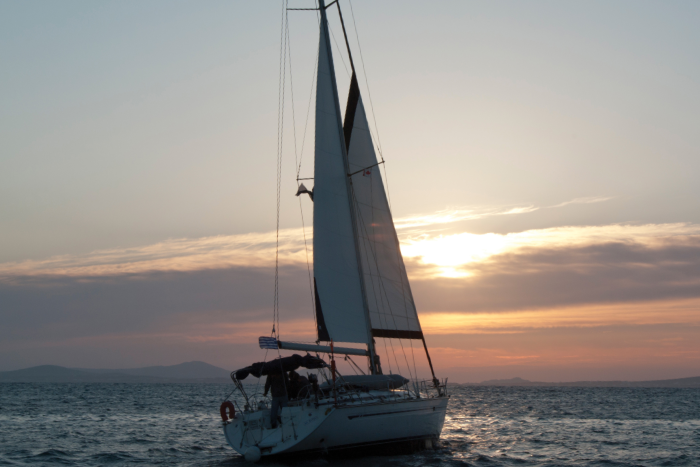 sail off into the Greek sunsets aboard our comfy yachts