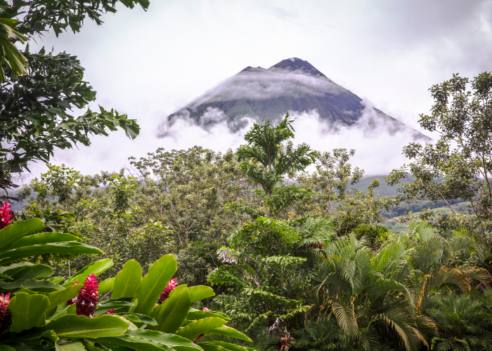 even while it's sleeping Arenal Volcano is a dream to see