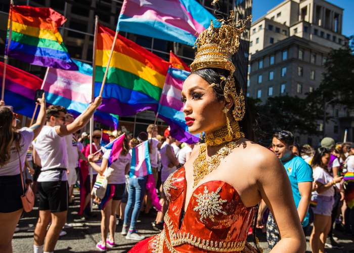 immerse yourself in a world full of beautiful voices and people for Pride