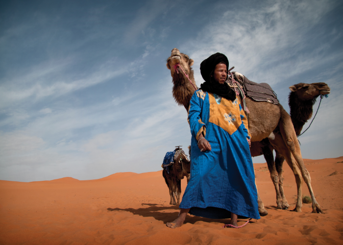the people of Morocco are known to be as warm as the fur on a camel's back