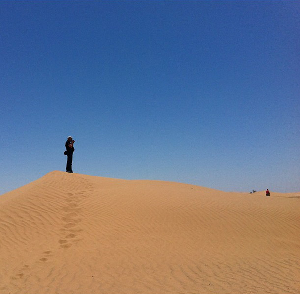 Imperial Sand Dunes in California. Pic courtesy of Gary Arndt
