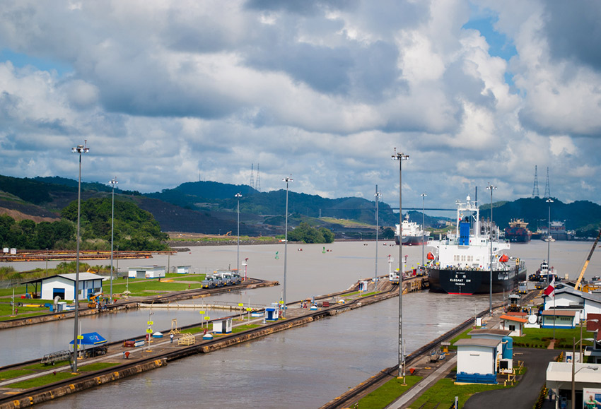 Passing through the Panama Canal is a once in a lifetime opportunity. Photo courtesy Jose J.