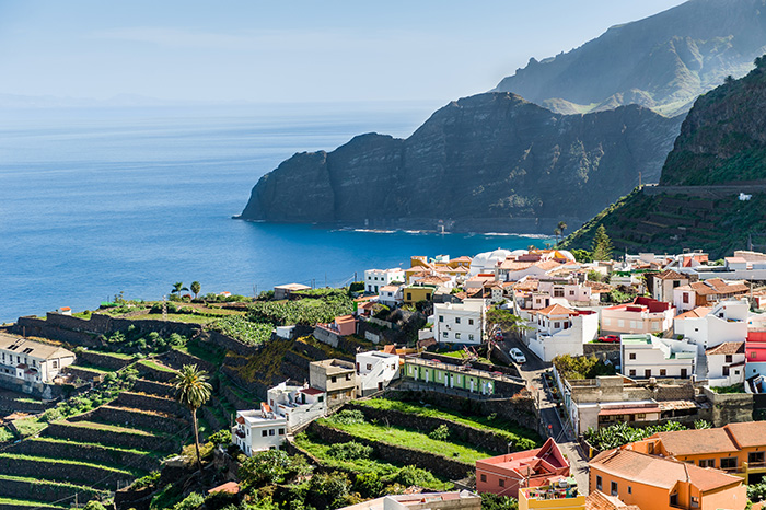 As colourful as canaries, cottages dot the landscapes of Tenerife and La Gomera