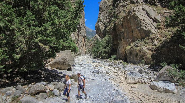 Feeling gorges? Crete's got some pretty good ones to walk through