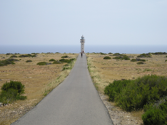 Pedal around the smallest of the Balearic Islands on an optional day tour