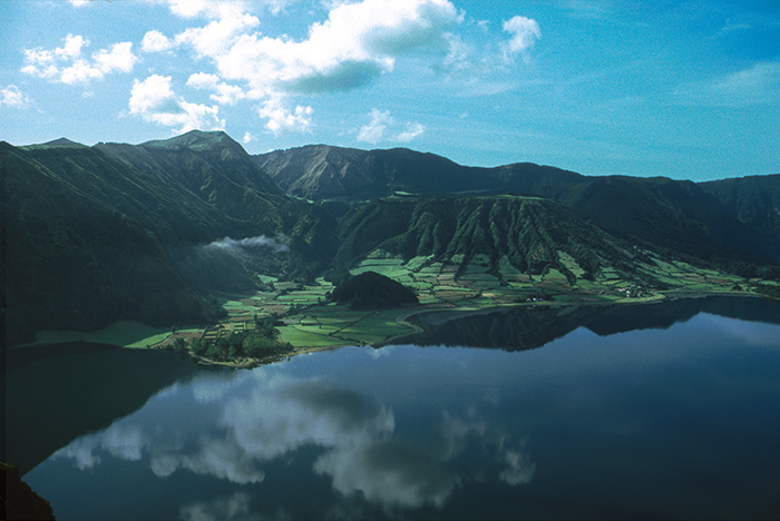 Get lost in natural greens and blues at Sete Cidades