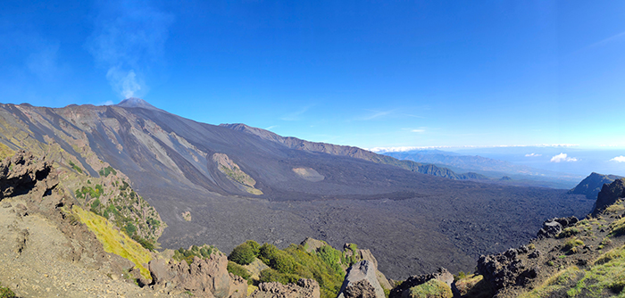 Hike to see the summit craters on Europe's largest active volcano