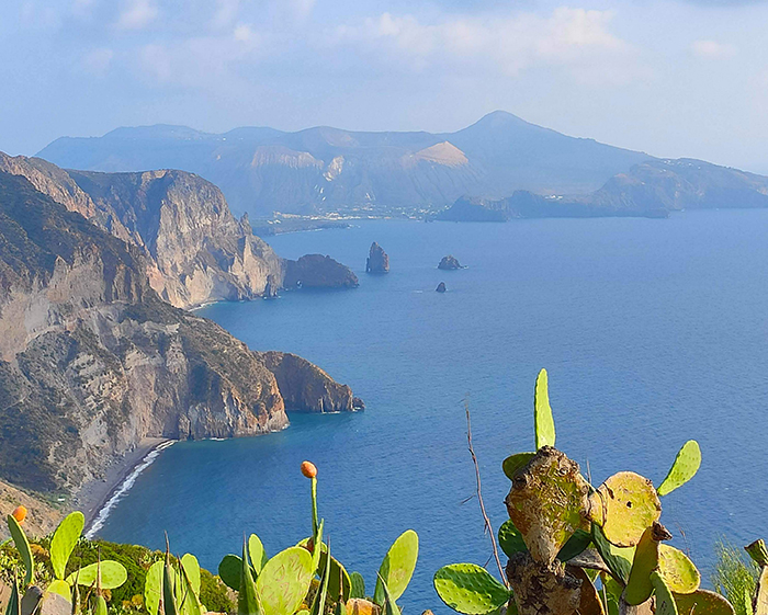 Leap around the Aeolian Islands from Lipari as your home base