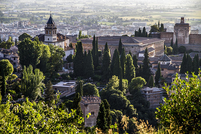 Moorish architecture is all over Andalusia including Granada where you land