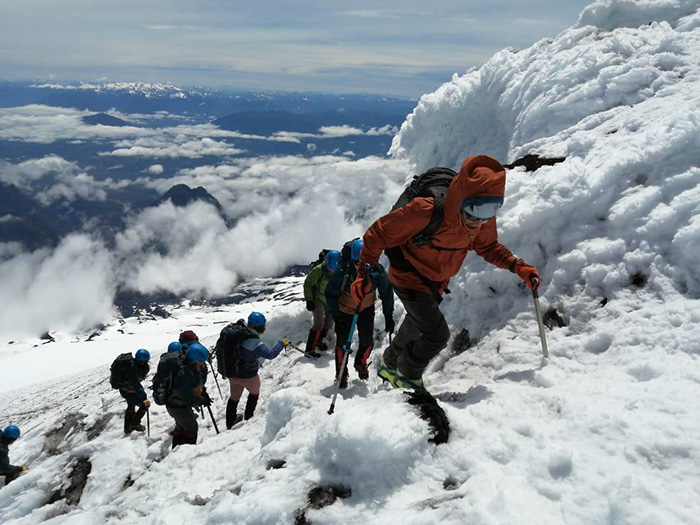 Villarrica volcano hike felt like scaling Everest and remains a favourite group memory