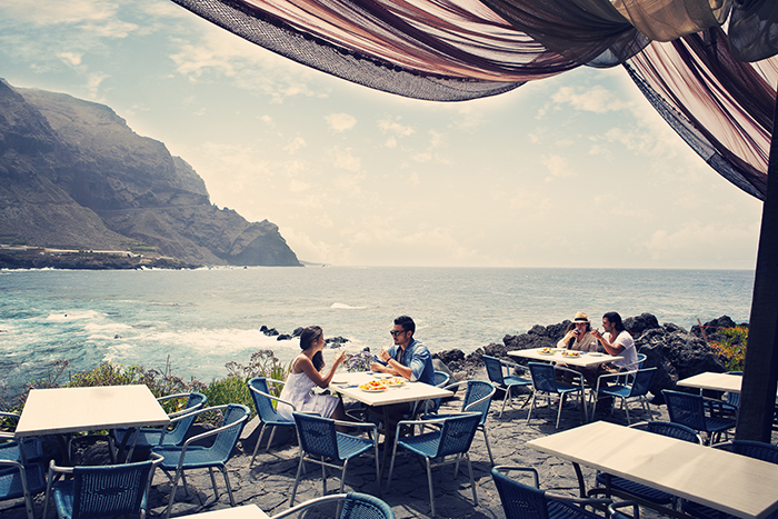 soak in the warmth and dine al fresco with stunning backdrops at every port