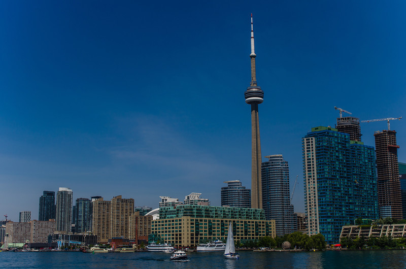 Toronto is a big city made up of vibrant neighborhoods.  You could travel the world without leaving it.