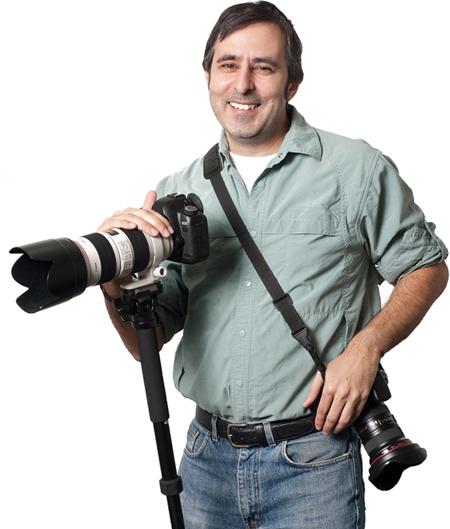 Photographer Paul Teolis at the G Adventures studio