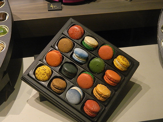 Macaroons in Belgium, photo by Denise Neary