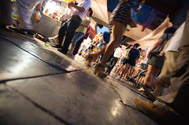 Night market in Xian, Photo by Attit P.