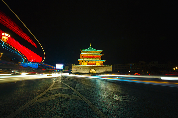 The Bell Tower of Xian, photo by Attit P.