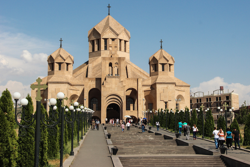 Saint Gregory the Illuminator Cathedral. Photo courtesy Borders of Adventure