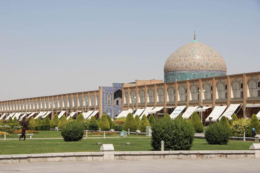 Inside Imam Square.