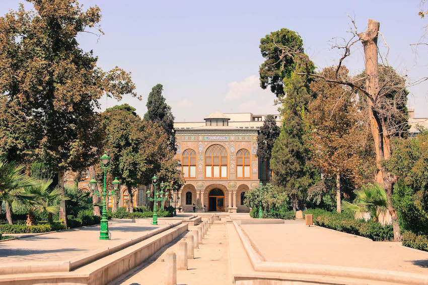 The Golestan Palace in Old Tehran.