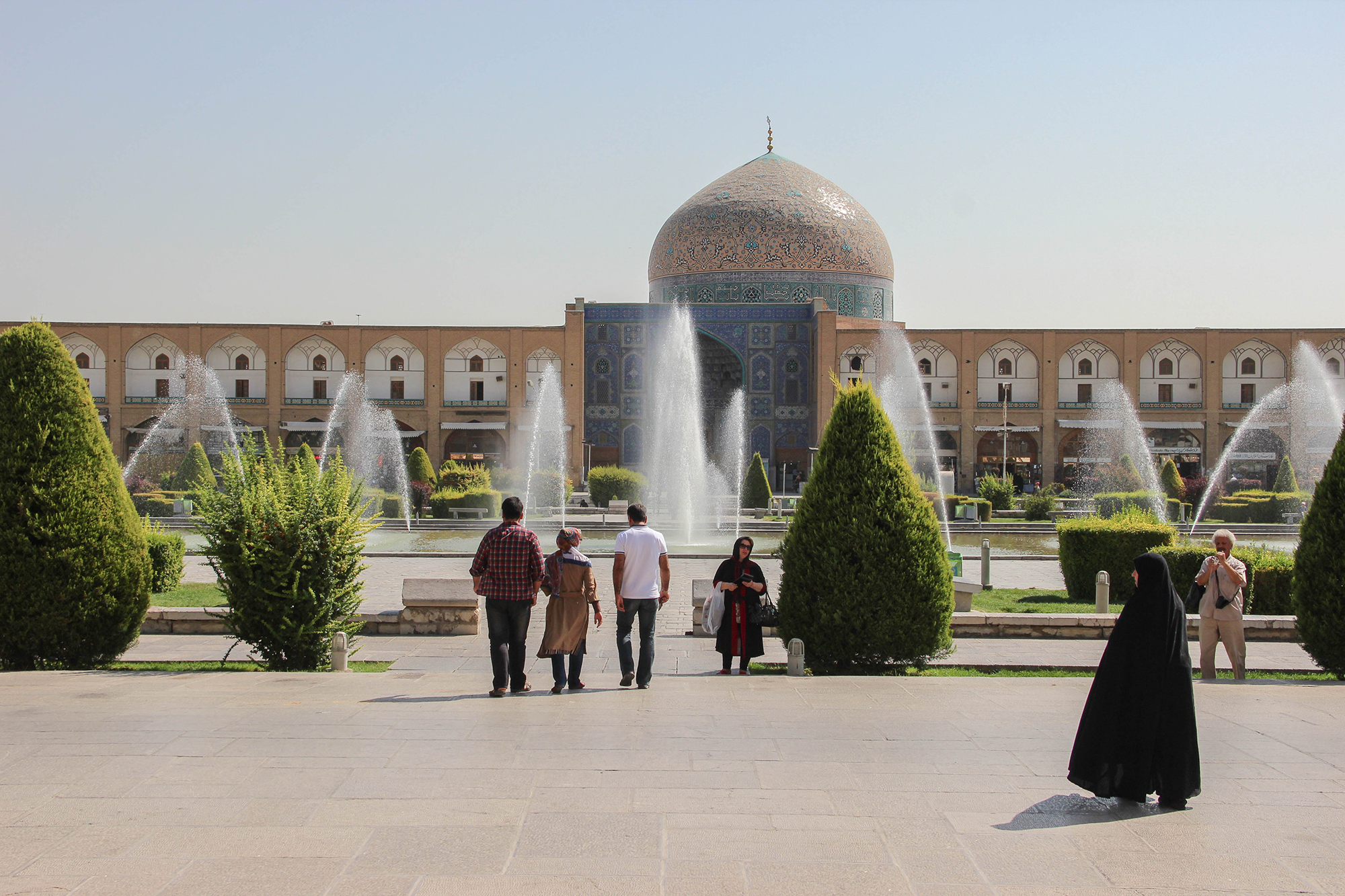 As Iran's third largest city, Isfahan has loads on offer. Photo courtesy Becki Enright.