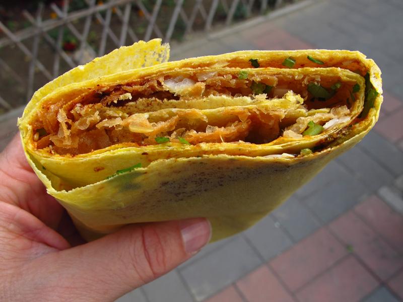 Chinese pancake. Photo courtesy Nate G.