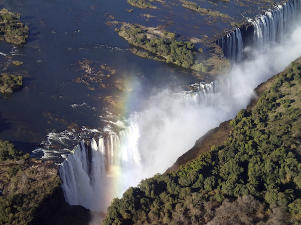 Victoria Falls truly is awe inspiring.