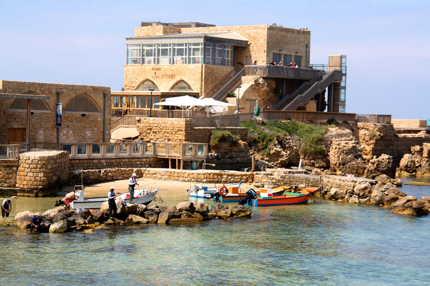 What a view for a picnic. The Old Jaffa Port. Photo courtesy IsraelTourism.