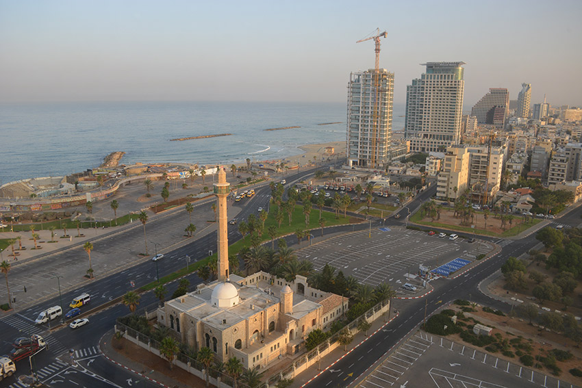 Tel Aviv Port is now one of the most visited areas in the city. Photo courtesy Cailin O'Neil.