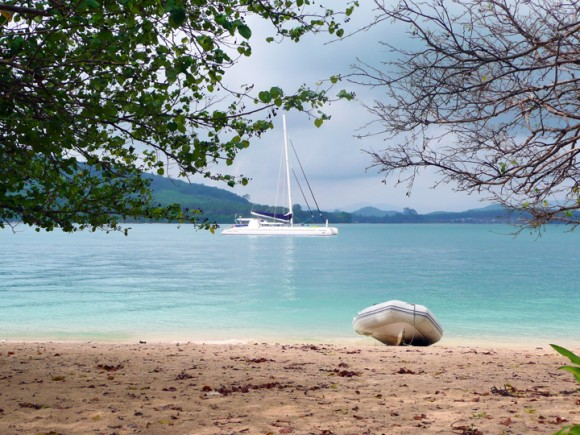 Miss the sand? Beautiful secluded beaches are only a swim away.