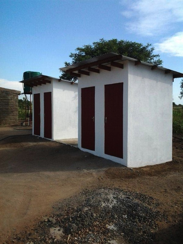 The simplest things often mean the most. New facilities installed at the New Hope Africa Children's Day School